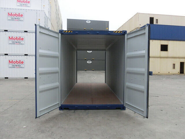 20 High Cube Double Door